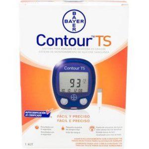 Glucómetro Contour TS de Bayer